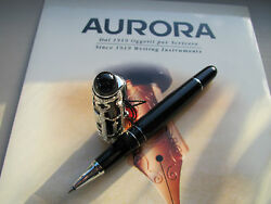 Aurora Venezia sterling silver limited production roller ball pen MIB