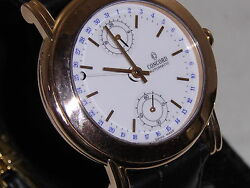 Concord Auto Aprox. 36mm 18k Rose Gold Swiss Made Aprox. 38 M.m.w W/crown