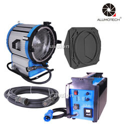 HMI 2500W 90~130V Pro Fresnel Light Daylight Compact 2.5/4KW Ballast + Cable