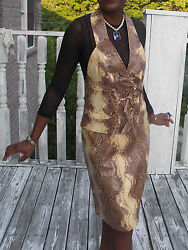 New Couture Christian Dior Farmed Snakeskin Vest Coat Jacket And Skirt 38 Us 6