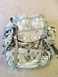 Molle Ii Large Rucksack Backpack Assembly Acu Used Very Good