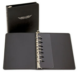 Deluxe 1 7-ring Binder By Asa - For Jeppesen Approach Plates - Asa-ap-bd-dl1