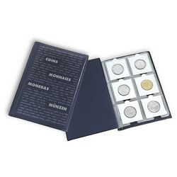 2 Numis 60 Pocket Lighthouse Quality Coin Book Album For 2x2 Holder Storage Case