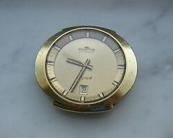 Very Rear For Collectors Vintage Fortis Skylark Automatic Watch 6260 Gold Plate