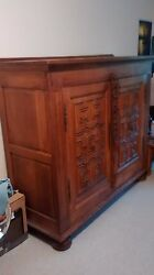 18 Century Hand Carved Armour Tv Cabinet.