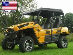 Roof For Kawasaki Teryx 4 - Soft Material - Top - Withstands Highway Speeds