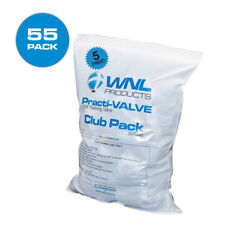 Pack Of 50 Cpr Pocket Rescue Mask Practi-valves Wnl Club Training Pack