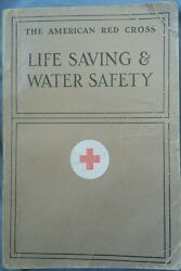 The American Red Cross Life Saving And Water Safety 28th Printing 1971