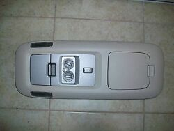 03 NAVIGATOR OVERHEAD CONSOLE CENTER TOP ROOF CLIMATE CONTROL DOME TESTED#HHHS+