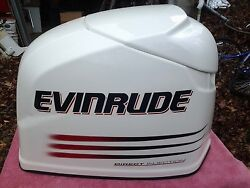 Evinrude 2005 225 Hp Engine Cover - New Condition