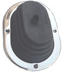 Inland Shifter Boot And Trim Ring For 1970-1976 Mopar A-body