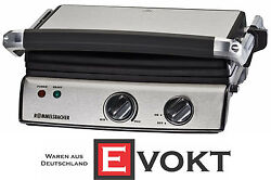 Rommelsbacher KG 2020 Contact Grill 2000W Stainless Steel Genuine New