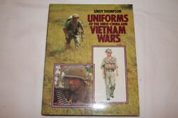 Us Army Uniforms Indo-china And Vietnam Wars By Leroy Thompson Reference Book