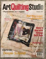Art Quilting Studio Make It New With Vintage Quilt Tops Sum 2009 Free Shipping