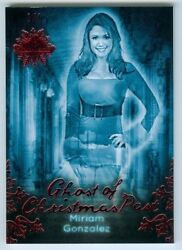 Miriam Gonzalez Ghost Of Christmas Past /1 Benchwarmer Past And Presents 2015