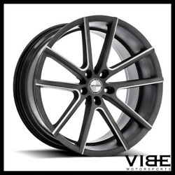 19 Sporza V5 Machined Concave Wheels Rims Fits Infiniti G37 G37s Coupe