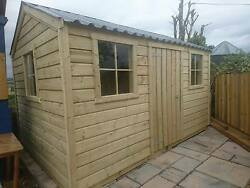 High Quality Premium Timber Cottage Pressure Treated Steel Roof Heavy Duty 20mm