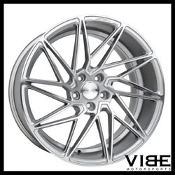 19 Ace Driven 19x8.5 Silver Concave Wheels Rims Fits Acura Tl