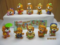 kinder surprise eggs toys complete set