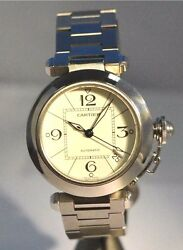W106- Pasha De 2324 Unisex Automatic Stainless Steel Watch 35mm