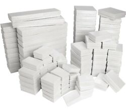White Cotton Filled Jewelry Packaging Gift Boxes