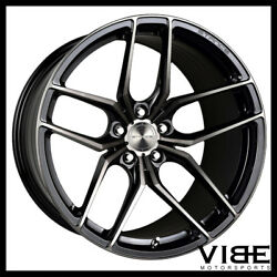 20 Stance Sf03 20x10.5 Black Forged Concave Wheels Rims Fits Audi B8 A5 S5