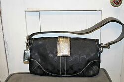 Authentic Coach Bags Used Black $45.00