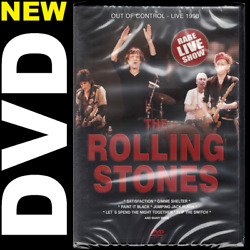 Rolling Stones: Out of Control-Live 1998 (DVD) Mick Jagger Keith Richards