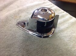 Perko Boat Bow Iight Rechromed March 16 Stamped Brass Glass Lens