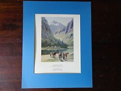 Henry Farny Exhibition Poster Cincinnati Art Museum In The Heart Of The Rockies