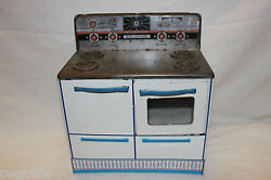 Vintage Wolverine Childs Toy Metal Stove