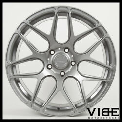 20 Mrr Fs01 Gunmetal Flow Forged Concave Wheels Rims Fits Honda Accord Coupe