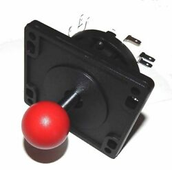 Happ Red Ball 4 Way Joystick Part For All Video Arcade Game Machines