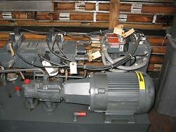 Hydraulic, Pump, Huge Power, Babson, Electric Motor, Pump, Used