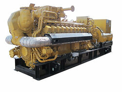 New Caterpillar G3520 2500KW Natural Gas Generator Sets. any voltage