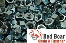 1/4-20 Finished Hex Nuts Zinc Plated 1000 Pcs 1/4