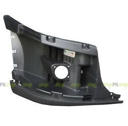 Freightliner Cascadia Bumper End Reinforcement With Fog Hole Right Side