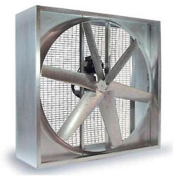 Agricultural Exhaust Fan - Belt Driven - 42 - 6 Wing - 10,120 Cfm To 23,800 Cfm