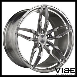 20 Vs Forged Vs03 20x9 Brushed Concave Wheels Rims Fits Audi B8 A4 S4
