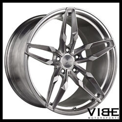 20 Vs Forged Vs03 Brushed Concave Wheels Rims Fits Bmw F12 F13 640 650