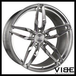 20 Vs Forged Vs03 Brushed Concave Wheels Rims Fits Toyota Camry