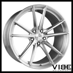 20 Vs Forged Vs04 Brushed Concave Wheels Rims Fits Ford Mustang Gt