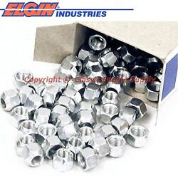 New Box Of 100 Rocker Arm Lock Nuts 6 Cylinder And V8 Chevy Sb Engines
