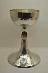 + Nice Antique Chalice + All Sterling Silver + Nice And Clean Ready To Use +