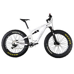 IMUST Carbon Full Suspension Fat Tire Bike Snow Malamute 18