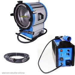 220~250V Daylight Compact 2500 HMI 2500W Fresnel Light + 2.54KW Ballast + Cable