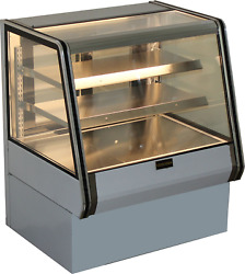 Cooltech Dry Counter Bakery Pastry Display Case 36