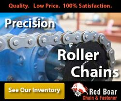 C2040np Nickel Plated Conveyor Roller Chain Extended Pitch 1