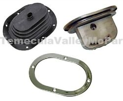 Inland Shifter Boot And Trim Ring For 1966-1969 Mopar A-body