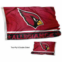 Arizona Cardinals Allegiance Two Sided Flag